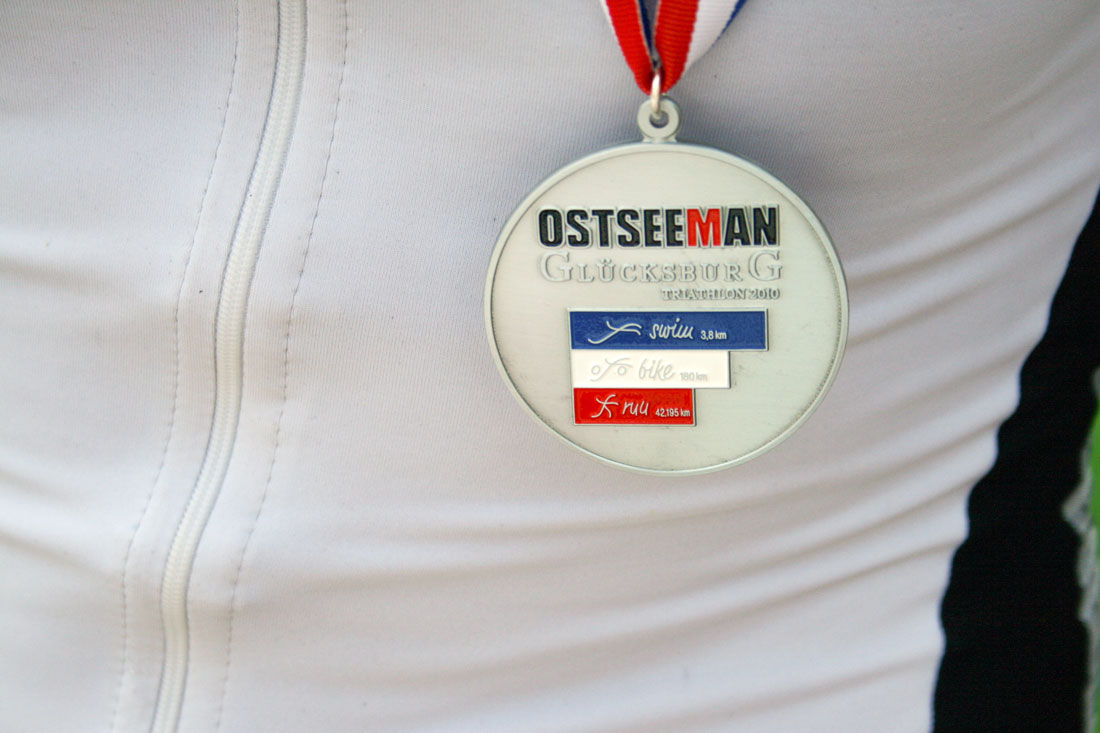 Finisher-Medaille Ostseeman