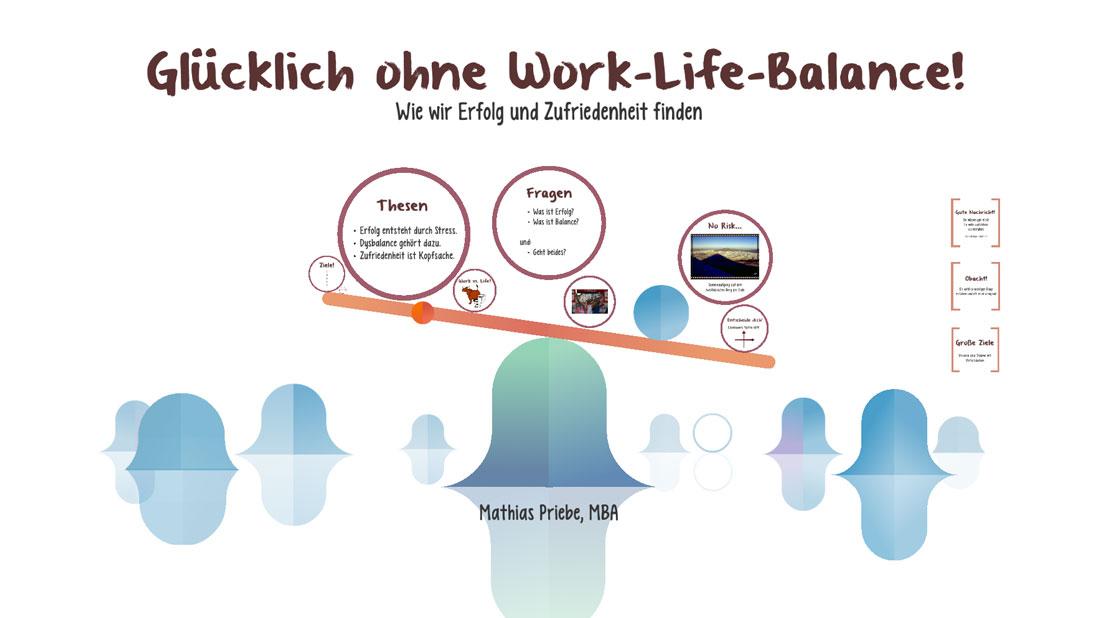 Vortrag Glücklich ohne Work-Life-Balance