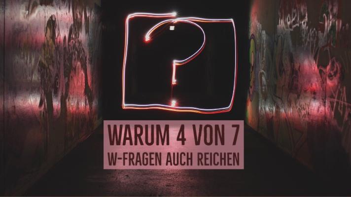 7 W-Fragen